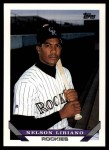 1993 Topps Traded #53 T Nelson Liriano  Front Thumbnail