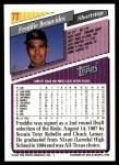 1993 Topps Traded #7 T Freddie Benavides  Back Thumbnail