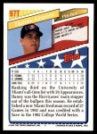 1993 Topps Traded #97 T  -  Danny Graves Team USA Back Thumbnail