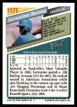 1993 Topps Traded #117 T Geronimo Berroa  Back Thumbnail