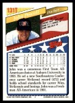 1993 Topps Traded #131 T  -  John Powell Team USA Back Thumbnail