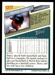 1993 Topps Traded #121 T Henry Cotto  Back Thumbnail