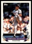 1993 Topps Traded #116 T Armando Reynoso  Front Thumbnail