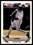 1993 Topps Traded #11 T Orestes Destrade  Front Thumbnail
