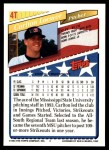 1993 Topps Traded #4 T  -  Carlton Loewer Team USA Back Thumbnail
