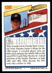 1993 Topps Traded #128 T  -  Mike Martin Team USA Back Thumbnail