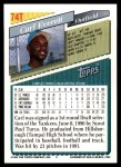 1993 Topps Traded #74 T Carl Everett  Back Thumbnail