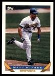 1993 Topps Traded #72 T Matt Mieske  Front Thumbnail