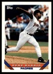 1993 Topps Traded #64 T Gene Harris  Front Thumbnail