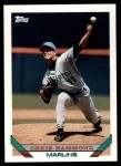 1993 Topps Traded #86 T Chris Hammond  Front Thumbnail