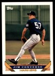1993 Topps Traded #40 T Jim Converse  Front Thumbnail
