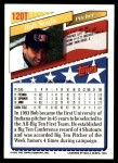 1993 Topps Traded #120 T  -  Bob Scafa Team USA Back Thumbnail