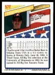 1993 Topps Traded #57 T  -  Charlie Nelson Team USA Back Thumbnail