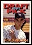 1994 Topps Traded #85 T Doug Million  Front Thumbnail