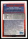 1994 Topps Traded #85 T Doug Million  Back Thumbnail