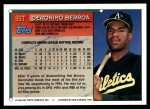 1994 Topps Traded #86 T Geronimo Berroa  Back Thumbnail