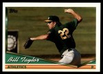 1994 Topps Traded #2 T Bill Taylor  Front Thumbnail