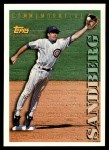 1994 Topps Traded #131 T  -  Ryne Sandberg  Highlights Front Thumbnail