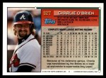 1994 Topps Traded #92 T Charlie O'Brien  Back Thumbnail