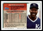 1994 Topps Traded #106 T Vince Coleman  Back Thumbnail