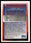 1994 Topps Traded #1 T Paul Wilson  Back Thumbnail