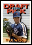 1994 Topps Traded #1 T Paul Wilson  Front Thumbnail