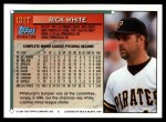 1994 Topps Traded #121 T Rick White  Back Thumbnail