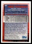 1994 Topps Traded #74 T Mike Thurman  Back Thumbnail