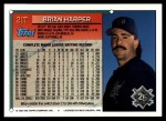 1994 Topps Traded #21 T Brian Harper  Back Thumbnail