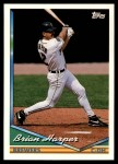 1994 Topps Traded #21 T Brian Harper  Front Thumbnail