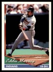 1994 Topps Traded #60 T Eddie Murray  Front Thumbnail
