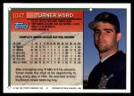 1994 Topps Traded #104 T Turner Ward  Back Thumbnail