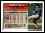 1994 Topps Traded #75 T Bobby Ayala  Back Thumbnail