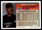 1994 Topps Traded #18 T Ellis Burks  Back Thumbnail
