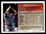 1994 Topps Traded #84 T Ross Powell  Back Thumbnail