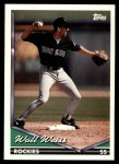 1994 Topps Traded #113 T Walt Weiss  Front Thumbnail