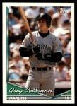 1994 Topps Traded #47 T Greg Colbrunn  Front Thumbnail