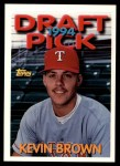 1994 Topps Traded #129 T Kevin L. Brown  Front Thumbnail