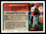 1994 Topps Traded #58 T Rick Helling  Back Thumbnail