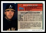 1994 Topps Traded #24 T Mark Acre  Back Thumbnail