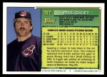 1994 Topps Traded #78 T Paul Shuey  Back Thumbnail