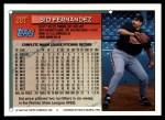 1994 Topps Traded #28 T Sid Fernandez  Back Thumbnail