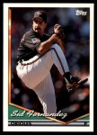 1994 Topps Traded #28 T Sid Fernandez  Front Thumbnail