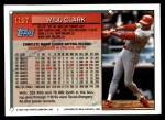 1994 Topps Traded #115 T Will Clark  Back Thumbnail