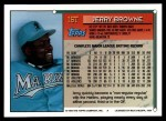 1994 Topps Traded #16 T Jerry Browne  Back Thumbnail