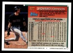 1994 Topps Traded #82 T Howard Johnson  Back Thumbnail
