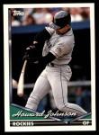 1994 Topps Traded #82 T Howard Johnson  Front Thumbnail