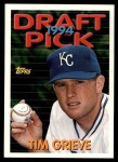 1994 Topps Traded #66 T Tim Grieve  Front Thumbnail