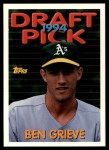 1994 Topps Traded #44 T Ben Grieve  Front Thumbnail