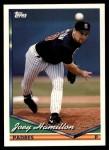 1994 Topps Traded #48 T Joey Hamilton  Front Thumbnail
